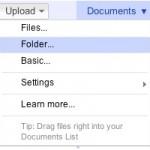 Google Docs 开始启用更简单的文件上传流程,支持拖拽