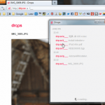Drops 桌面隨手丟就幫你自動上傳檔案、簡單預覽下載的分享空間