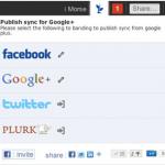 一个 Chrome 扩展可以让你以Google+、Twitter、Facebook任意为中心,互相同步状态消息