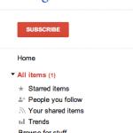 重新启用 Google Reader 分享功能的 Chrome 插件