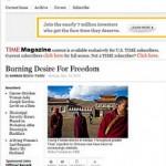 唯色 | 时代周刊:追求自由意愿似烈火般熊熊燃烧