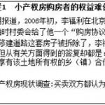 任志强 | 我国小产权房问题研究:现状与出路(1)