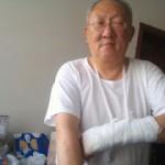 维权网   朱彭庆遭开发商雇人打伤,警方推诿不立案(图)