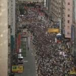 路透社:  香港7月1日爆发大规模反政府示威