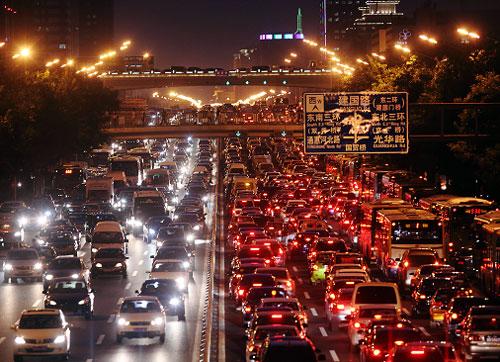 北京年均交通管制7000次 平均一天20次
