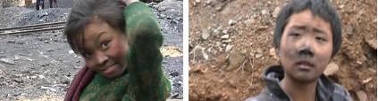 不要做中国人的孩子:网曝贵州毕节挖煤儿童照片