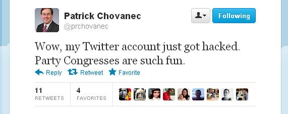 华尔街日报 | 十八大开幕之际中国一些推特账户被黑
