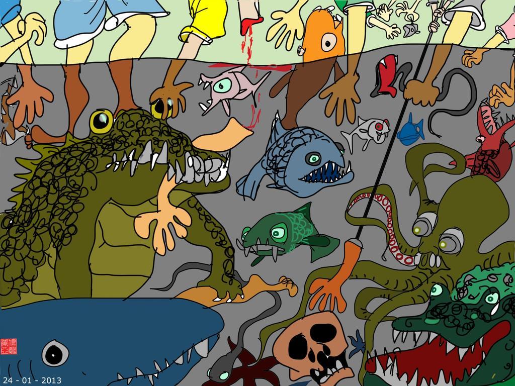 鳩鵪漫畫:浑水摸鱼的经济