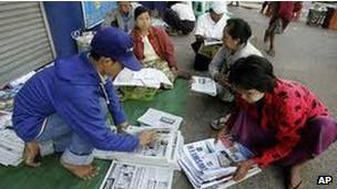发现新闻   缅甸解散媒体审查机构 中国人关注