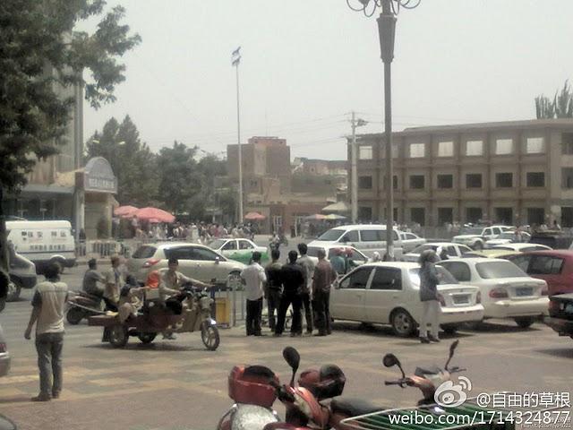 自由亚洲 | 新疆和田再发生暴力袭击案   鄯善70人被捕