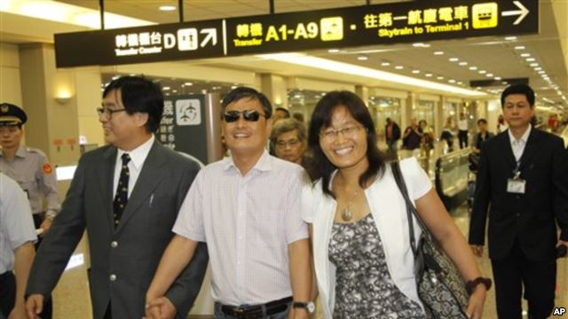 美国之音 | 陈光诚:民主在台湾成功说明它适合华人世界