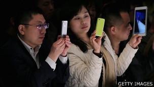 BBC | 统计:中国网民人数逼近6亿大关