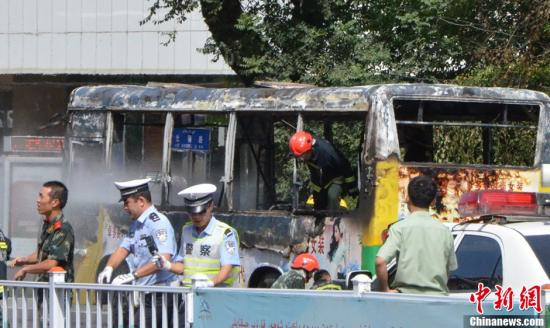 BBC | 乌鲁木齐一公车起火至少1人死亡