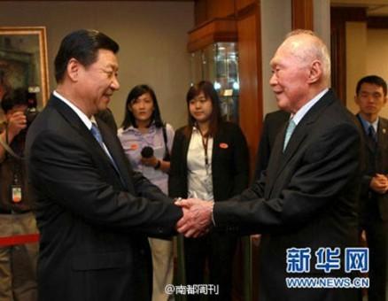 【异闻观止】环球时报 | 李光耀赞习近平是曼德拉级别的人物