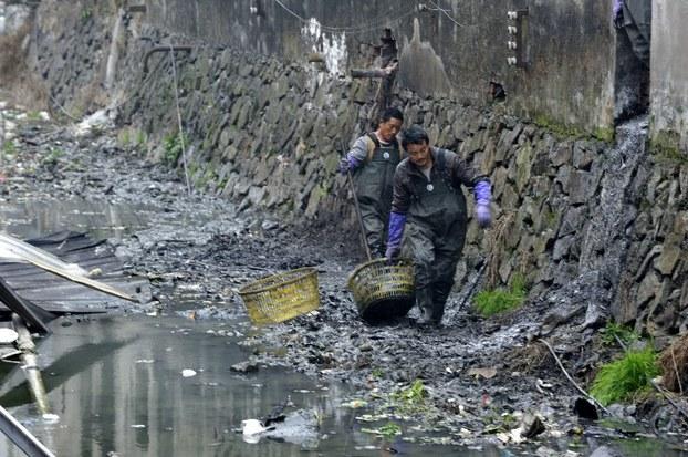 路透社:中国政府在水危机中看到自己的映照