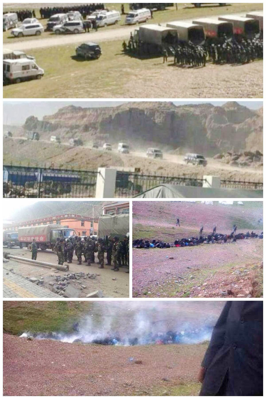 Chinese-Armed-Forces-come-to-Dzatoe-County-and-Crackdown-on-Tibetan-Mine-Protesters