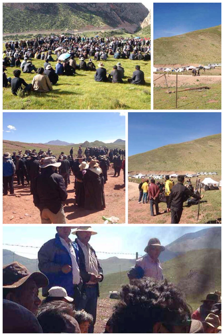 Tibetans-protest-against-the-mining-in-Zatoe-County