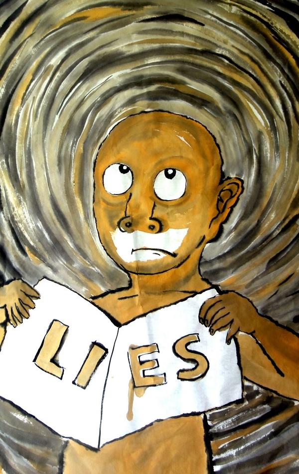 秃头倔人:lies