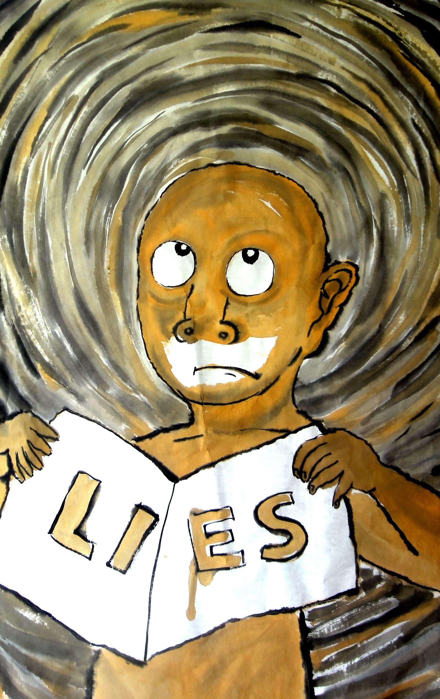 秃头倔人lies