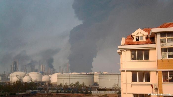 德国之声 | 青岛开发区输油管爆炸 已致47人死亡