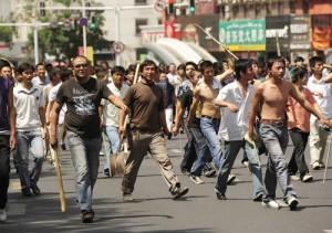 新疆七五事件 汉人上街