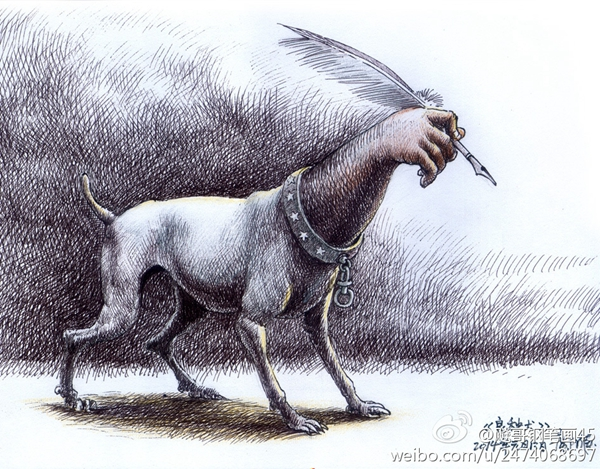 邝飙:良种犬