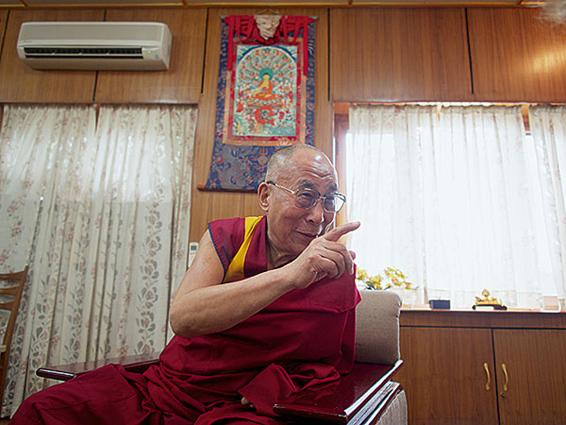 金融时报 | 艾米卡兹明:与达赖喇嘛对话