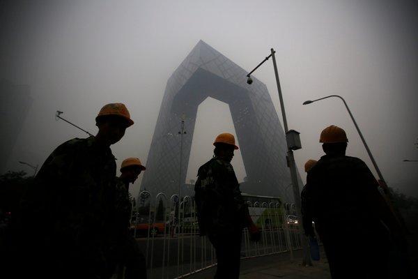 纽约时报 | 中国大气污染影响远及美国西海岸