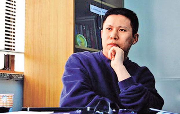 """北京法学家,""""公盟""""创始人之一许志永(资料图)"""