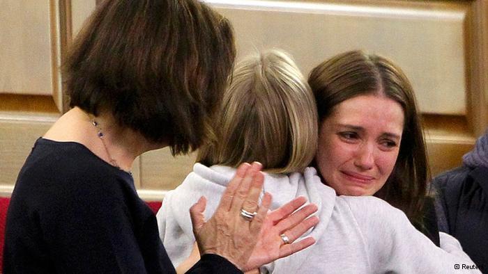 季莫申科的女儿听到母亲有望获释的一刹那