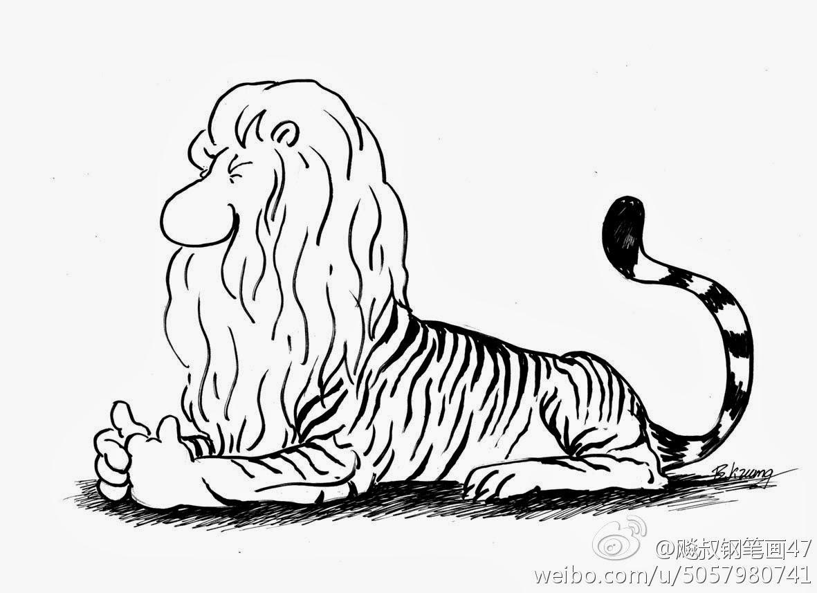 邝飙:睡狮