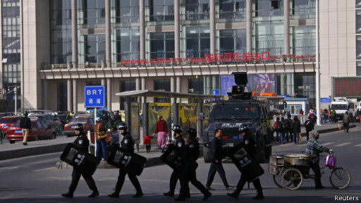 "BBC | 新疆火车站爆炸案""一嫌疑人身份确认"""