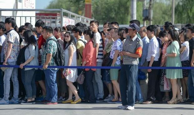 自由亚洲 | 六四前北京超常态防控85万人巡逻 10万人收集情报