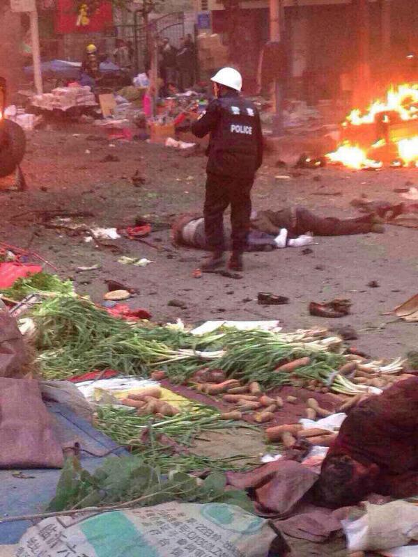 纽约时报 | 乌鲁木齐一早市发生爆炸