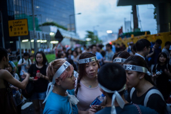 New Territories Development Plans Spark Protests In Hong-Kong
