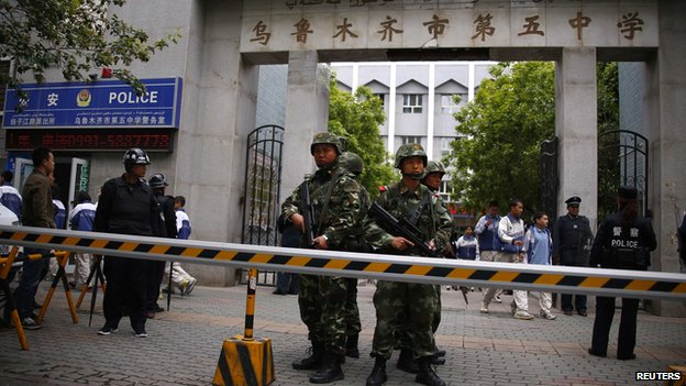 BBC   全球风险评估报告:中国受恐袭风险增加