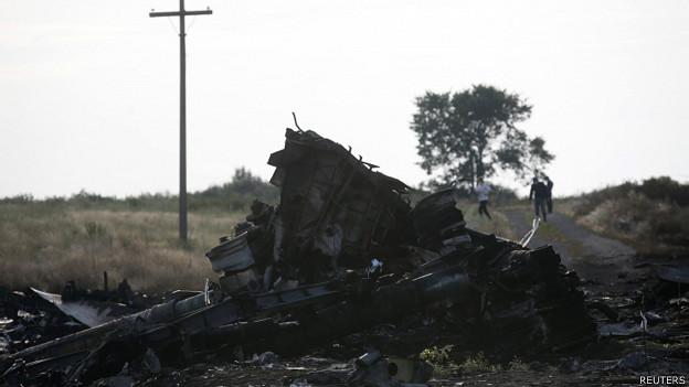 BBC | 克里:击落马航飞机的导弹来自俄罗斯