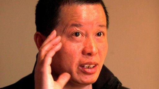 """据报,著名中国异见人士高智晟在监狱的3年中被""""完全摧毁"""",甚至不能正常说话。"""