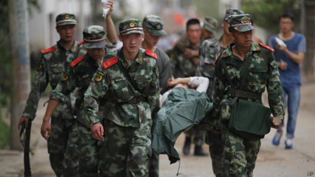 BBC | 中国云南鲁甸地震增至381人死亡
