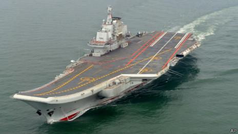 BBC|中国证实两名航母飞行员在试飞中丧生