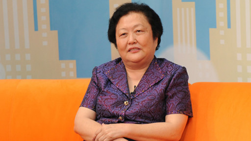 中国红十字会党组书记、常务副会长赵白鸽