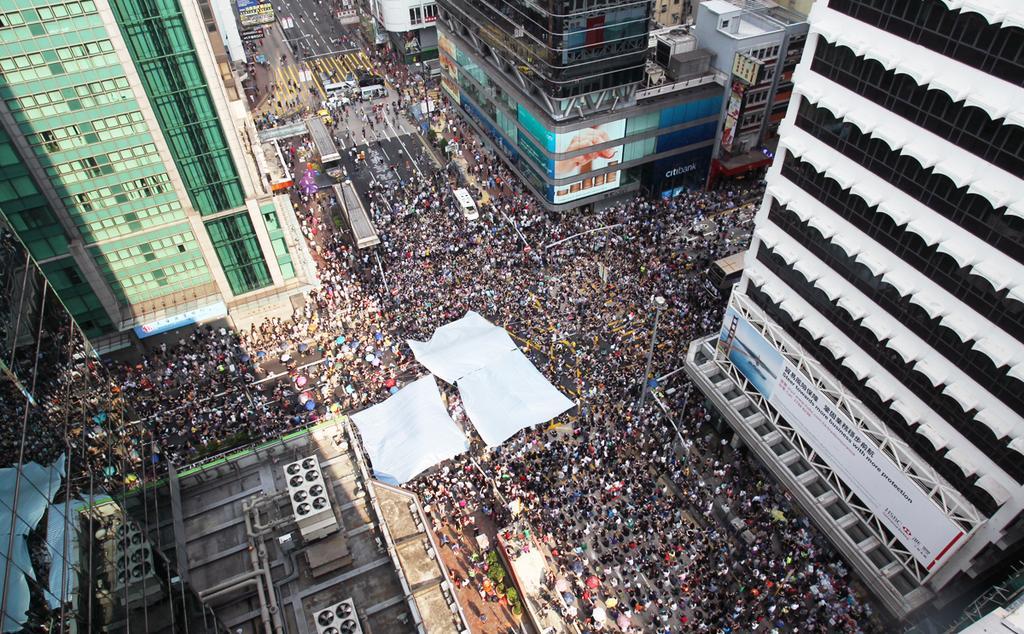 天下杂志|張鐵志:這真的是人民的力量──928香港抗爭記事