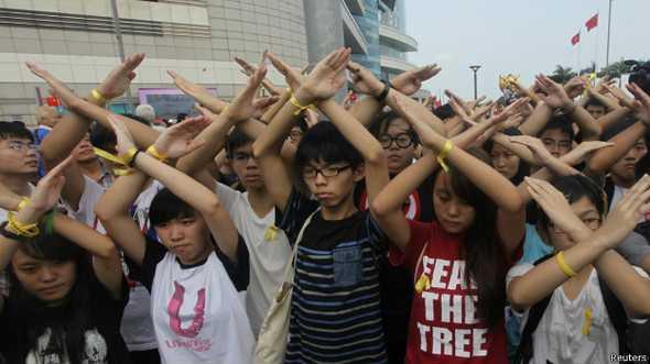 美国之音 | 香港学联: 周五对话议题未回应民众诉求