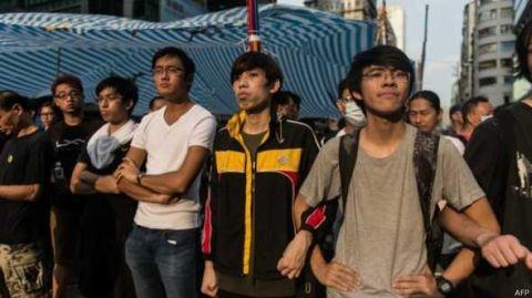 BBC| 香港占中运动或成为持久战