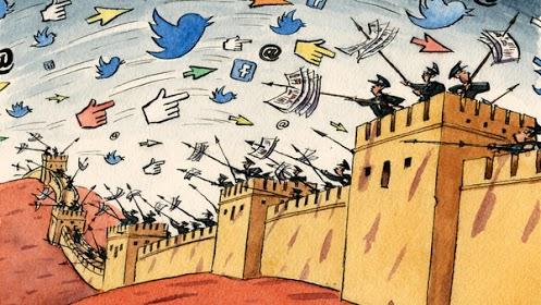 泡泡网   大陆网民艰难应对被操控的社交媒体