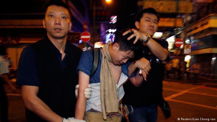 德国之声   香港学联:多名示威运动领袖人物被捕