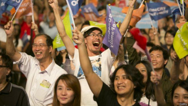 """台湾""""九合一""""地方选举结果揭晓,新华网仅对选举结果作最基本的报道。"""