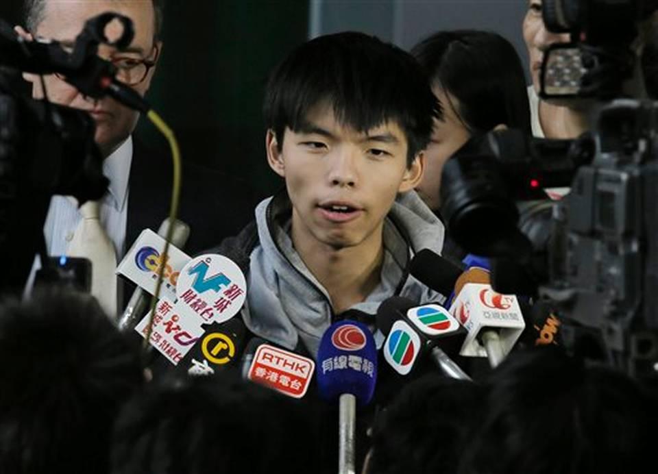 博谈网|香港抗议运动不大可能的少年领袖