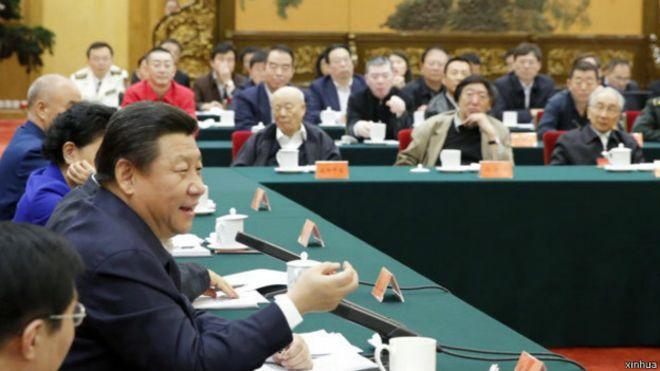中共领导人习近平上月在文艺工作座谈会上讲话指出社会主义文艺是人民的文艺。