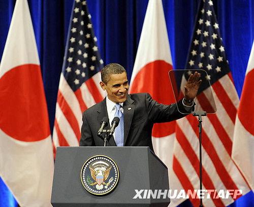 成田机场日记(12):欢迎美国总统奥巴马访问中日